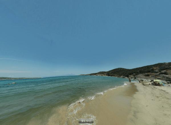Παραλία Λιναράκι 360 Panorama